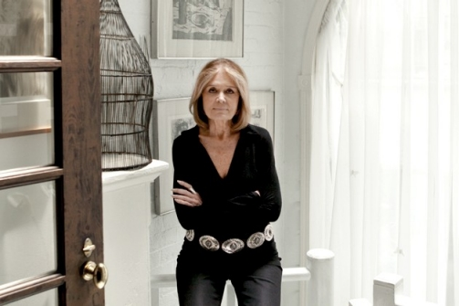 Gloria Steinem photographed at her home in NYC on july 8, 2011, Christian Witkin for Newsweek