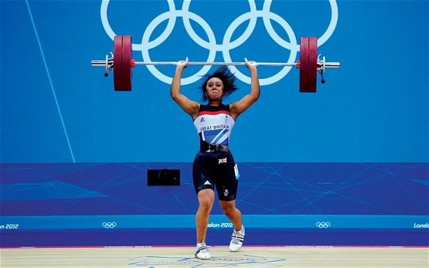 Zoe Smith's total lifted weight of 211kg was nowhere near enough for a medal and she finished 12th of 19 overall Photo: Getty