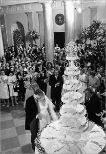 Tricia Nixon Wedding Cake