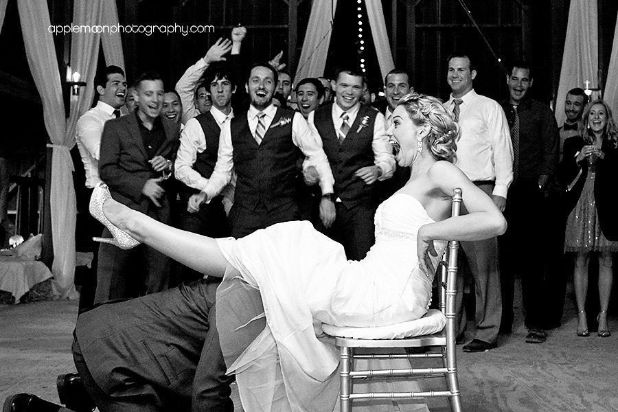 Erotic wedding party