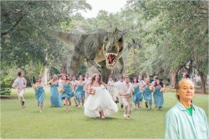 Dino Wedding and Bill Murray