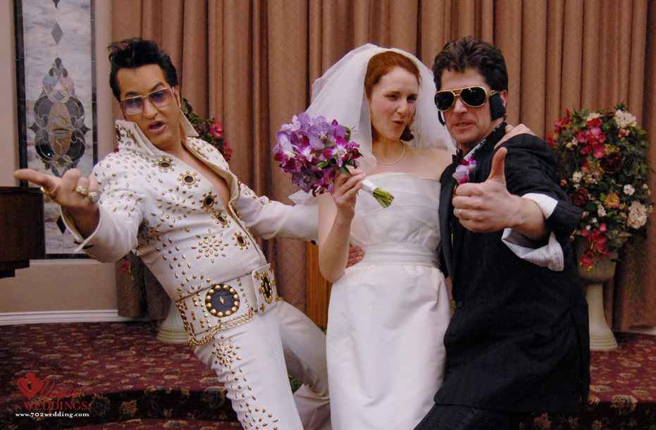 Las Vegas Wedding With Elvis