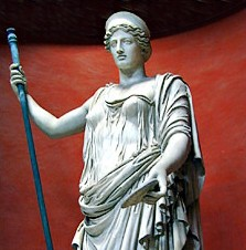 Juno, Roman Goddess of Marriage, Women and Childbirth