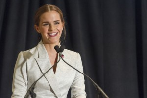 UN Women Goodwill Ambassador Emma Watson Co-Hosts Special HeForShe Event. UN Photo/Mark Garten
