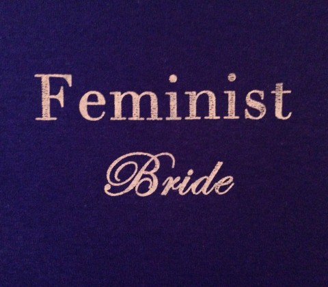 The Feminist Bride T-shirt