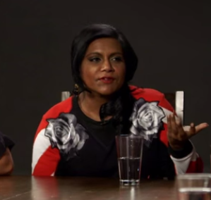 Mindy Kaling with The Hollywood Reporter