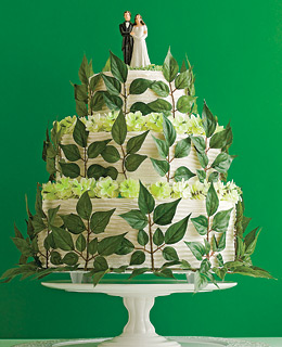 green-wedding-cake
