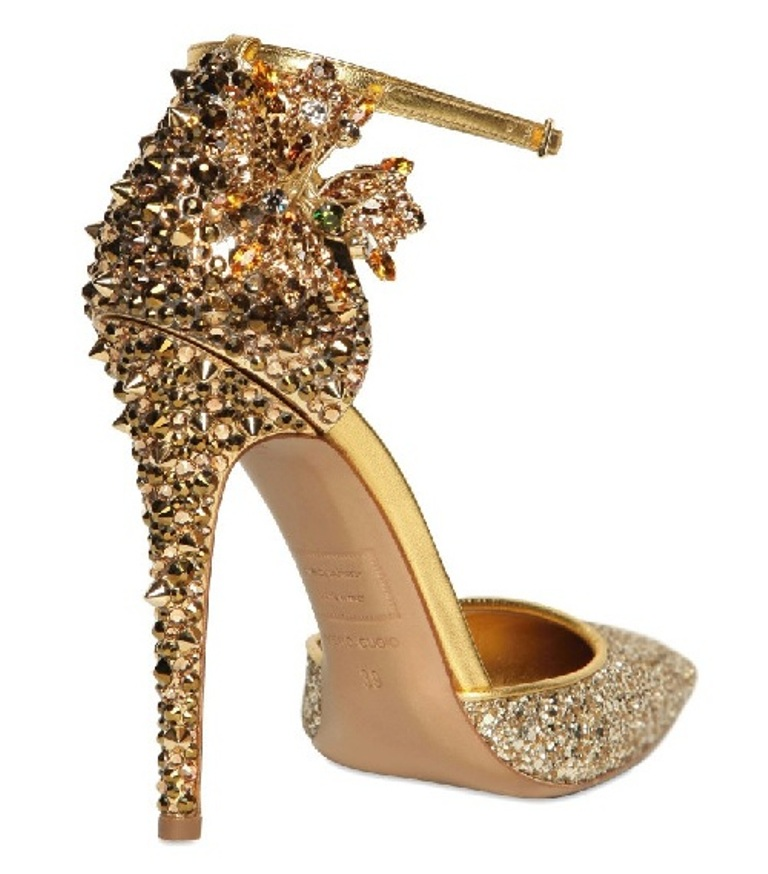 Gold Wedding Shoes