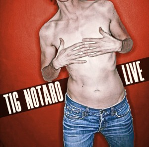 Tig Notaro comedy cover for LIVE!