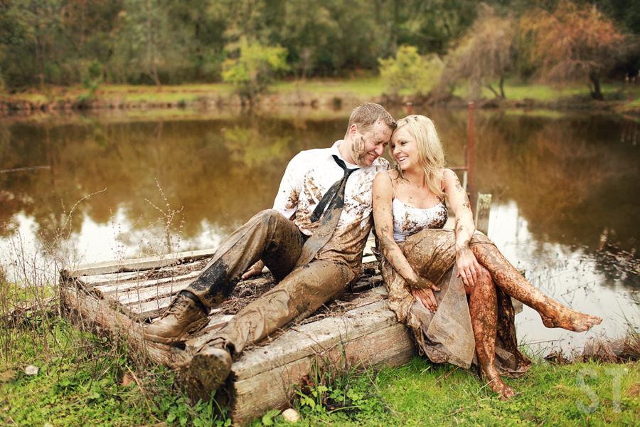 Photo 7 Of Wonderful Trash My Wedding Dress The Mandy In Weddingdress On Mudmodels