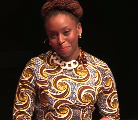 Image: Tedx, Chimamanda Ngozi Adichie