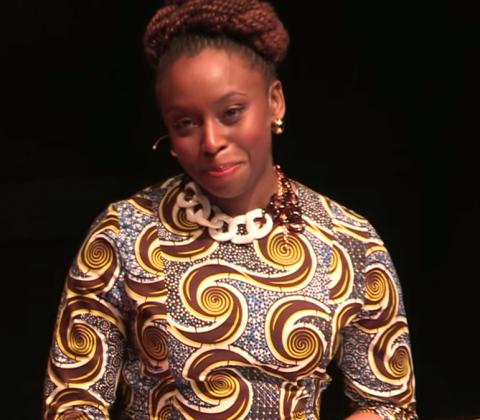 Image: Tedx, Chimamanda Ngozi Adichie