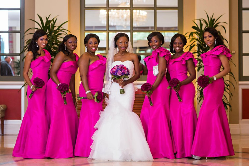 Why Do Bridesmaids (aka Best Ladies) Dress Alike?