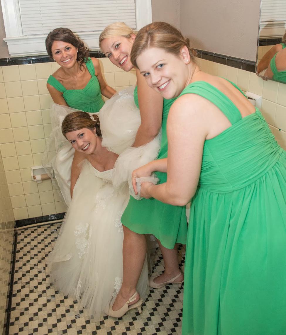 How to Poop in A Wedding Dress… | TheFeministBride