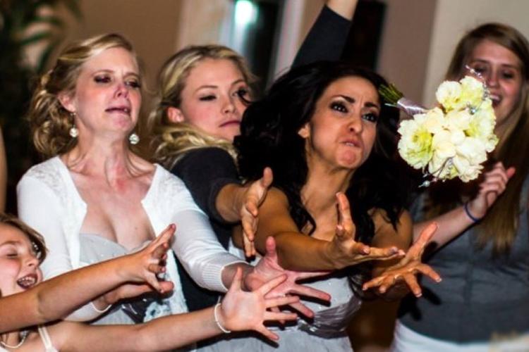 Why The Bouquet Toss Needs A Makeover