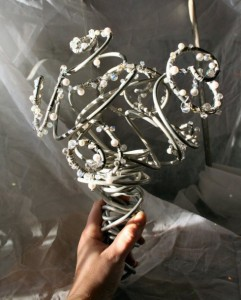 Wire Bouquet: This one will surely last the ages or you can recycle it afterwards!